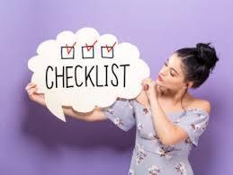 Checklist Home